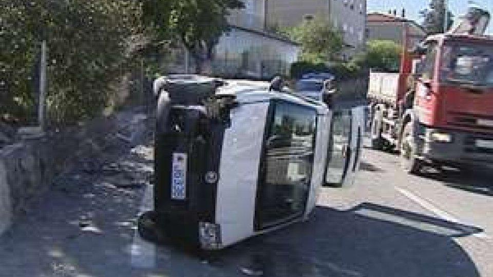 San Marino - Rocambolesco incidente a Borgo