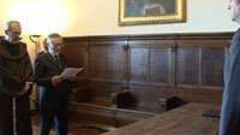San Marino: Padre Pizzaballa ricevuto dai Capi di StatoSan Marino: Padre Pizzaballa ricevuto dai Capi di Stato