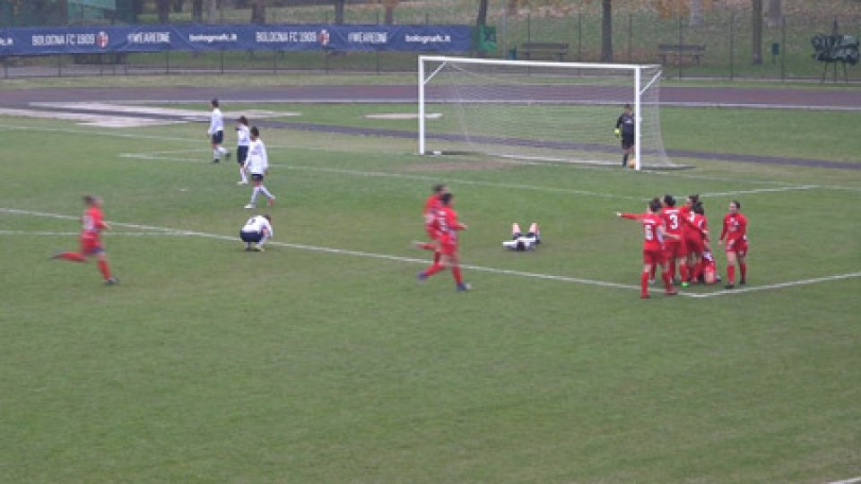 Bologna -San Marino Academy 1-2Colpo grosso della San Marino Academy che vince 2-1 a Bologna