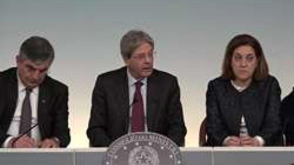 Il governo italianoZone terremotate, il governo stanzia un miliardo l'anno per tre anni