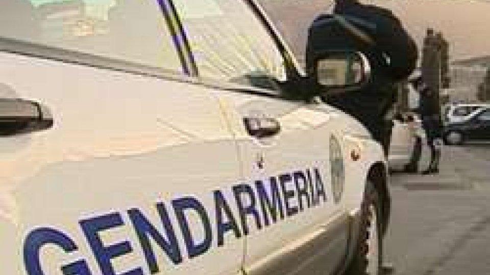 Controlli GendarmeriaBilancio 2016 Gendarmeria: in calo i furti