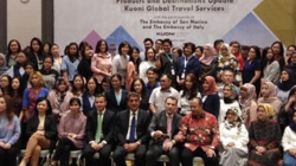 Think Sinergy: presentata la destinazione San Marino a 134 agenzie viaggi indonesiane
