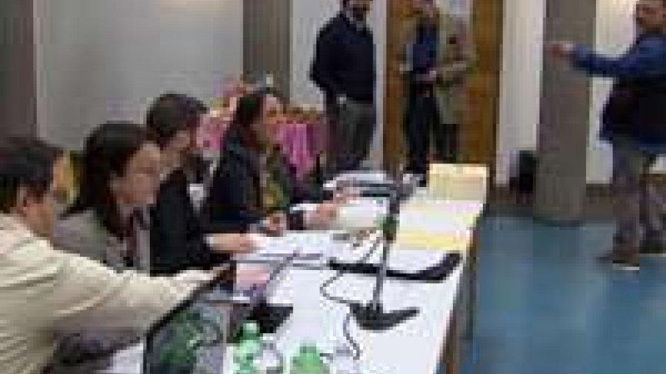 Assemblea Costitutiva, il Segretario Belluzzi ringrazia tutti i giornalisti che hanno partecipato