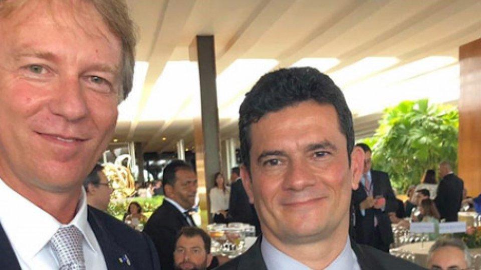 Sergio Moro e Filippo Francini