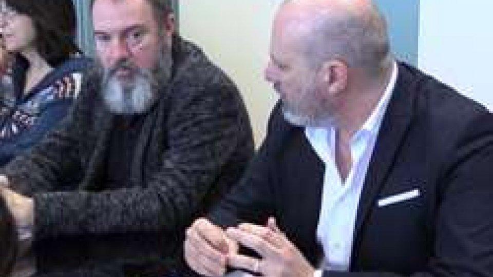 Carlo Lucarelli e Stefano BonacciniFondazione vittime reati: aiuti per altri 9 casi