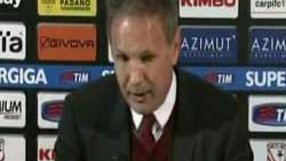 """0-0 fra Carpi e Milan; Miha: """"Poca cattiveria"""", Castori: """"Crescita confermata""""0-0 fra Carpi e Milan; Miha: """"Poca cattiveria"""", Castori: """"Crescita confermata"""""""