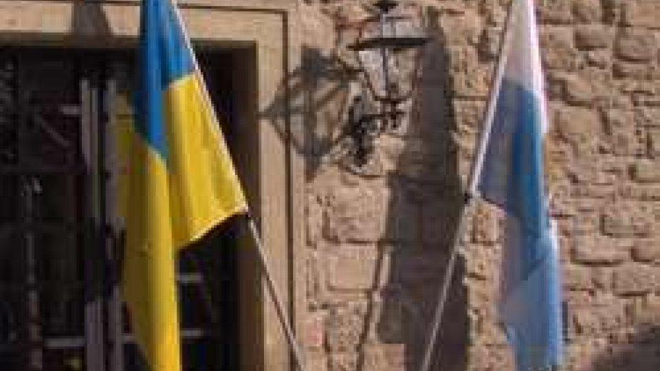 Inaugurato il Consolato Onorario d'Ucraina a San Marino