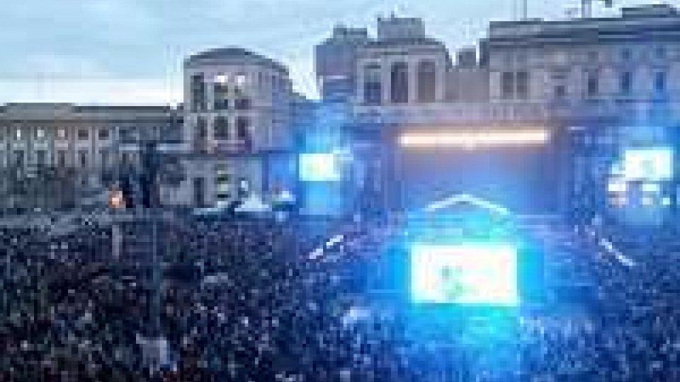 Il 30 Aprile Andrea Bocelli e Scala in piazza Duomo