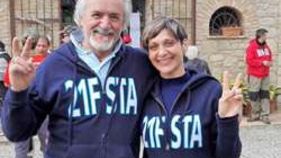 Marino Della Valle e Beatrice Moretti
