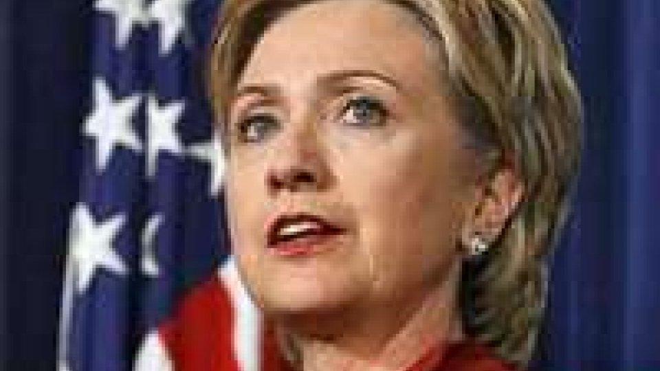 Usa: Hillary Clinton ricoverata, si teme trombosi