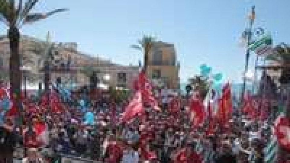 1° maggio, la manifestazione dei Sindacati a Pozzallo