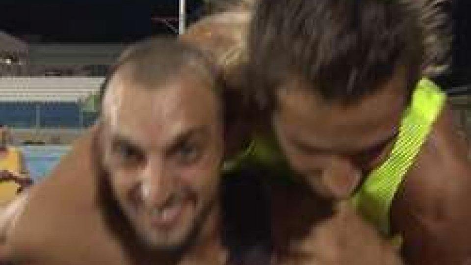 Eugenio Rossi e Gianmarco TamberiAtletica, Tamberi salta a San Marino: 2,18 dietro a Rossi