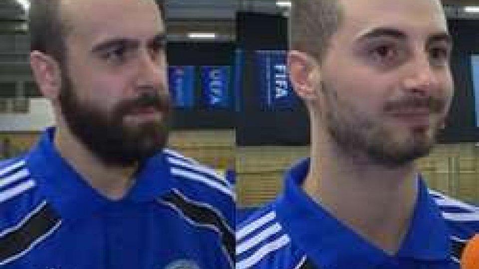 Futsal, le emozioni di Bollini e BarducciFutsal, le emozioni di Bollini e Barducci