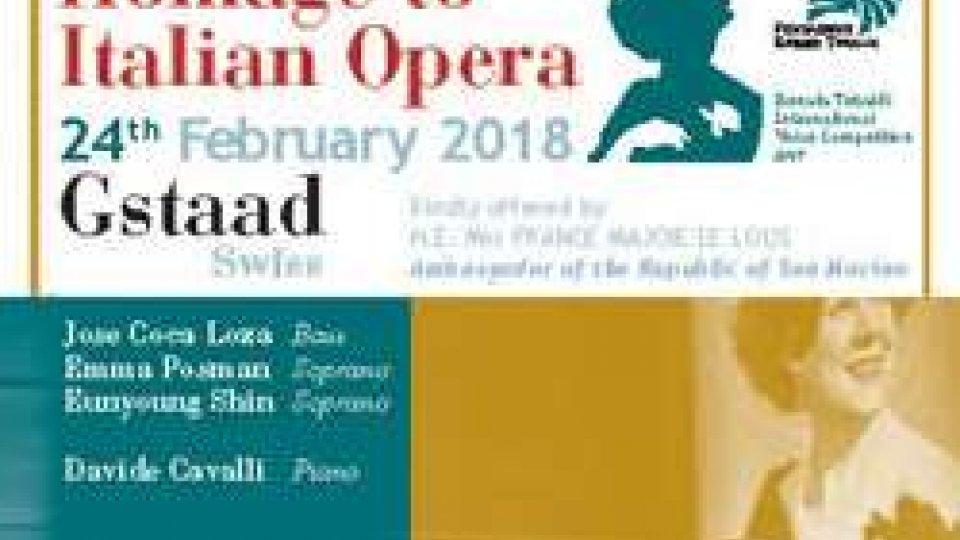 Fondazione Tebaldi in Svizzera omaggio l'opera italiana