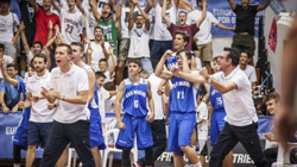 Eurobasket under 16: Galles in finale, San Marino battuto 66-56