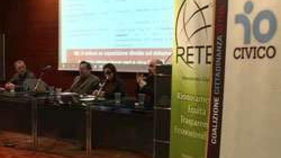 I relatori dell'incontro su Fondiss e pensioniPensioni e Fondiss: a Domagnano una serata con l'esperto Beppe Scienza