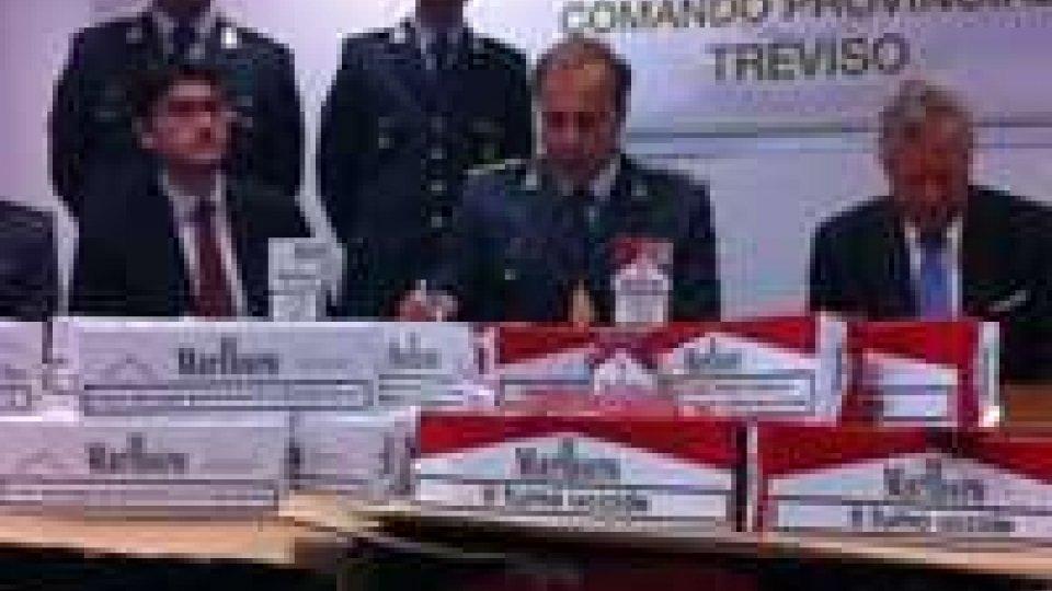 Treviso, contrabbando: sequestrate 5 tonnellate di sigarette