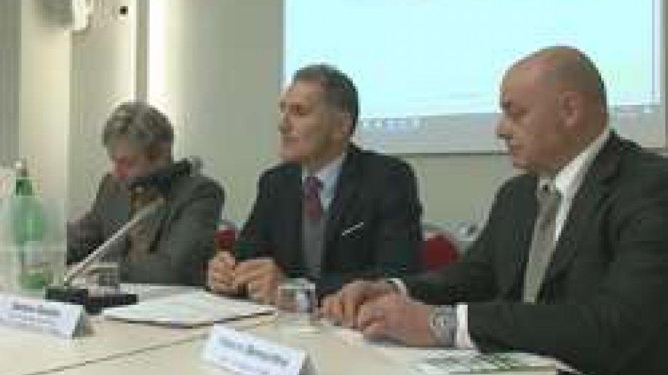 la conferenza stampaShuttle Rimini-Bologna, in 21 mesi scelto da 100 mila passeggeri
