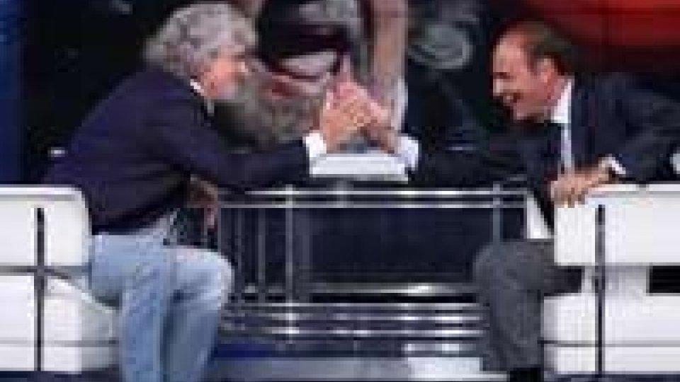 Tv: Vespa da record con Grillo, 4.276.000 telespettatori