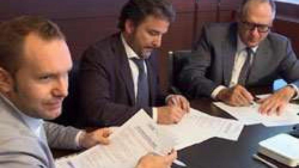 La firma della convenzioneOsla e Bac firmano una convenzione a sostegno dell'attività di impresa