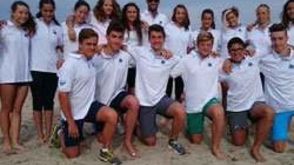 Gli atleti nazionali si allenano a Casarano