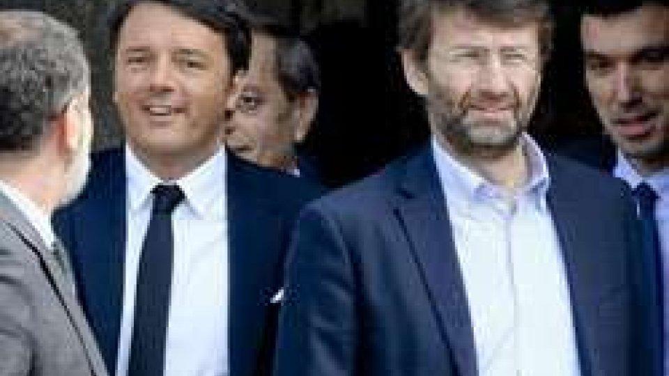 """Renzi: """"Se l'Italia smette di piangersi addosso è una potenza straordinaria""""."""