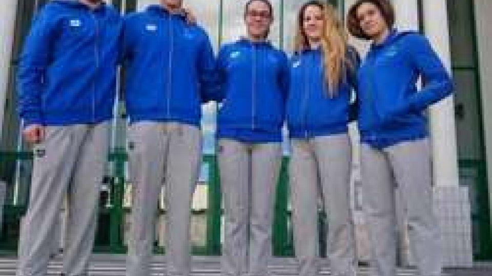 Elisa Bernardi, Beatrice Felici, Sara Lettoli, Christian Santi eRaffaele Tamagnini