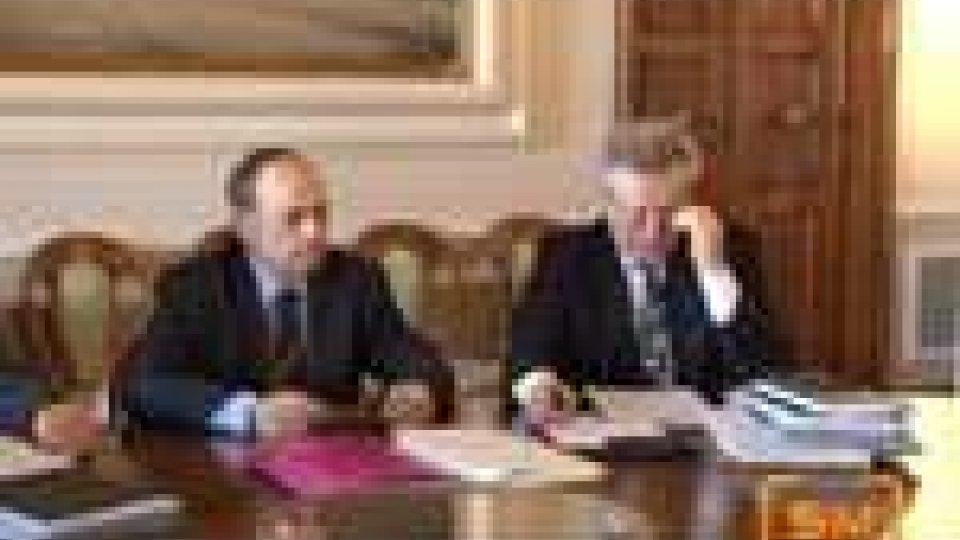 San Marino - Sul tavolo del Congresso di Stato l'emergenza neve e la prossima visita dell'FMI