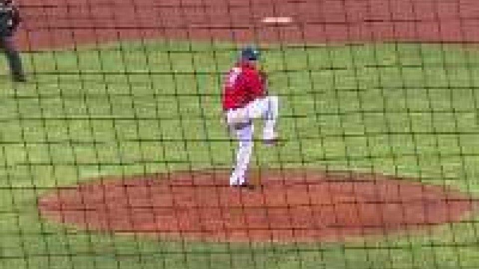 Baseball: torna alla vittoria la T&A San MarinoBaseball: torna alla vittoria la T&A San Marino
