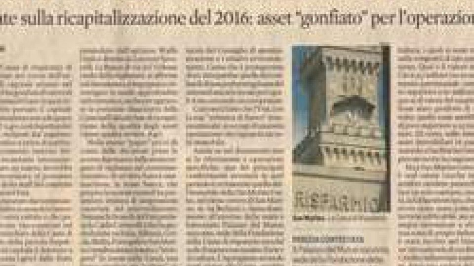 Il Sole 24 oreIl Sole 24 ore: per Cassa e Cis stime immobiliari nel mirino del FMI