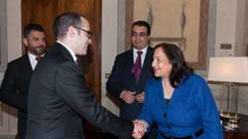 Incontro con l'Ambasciatore di Palestina in Italia