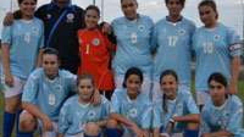 Giovanissime: San Mauro a Mare - Federazione Sammarinese 0-9