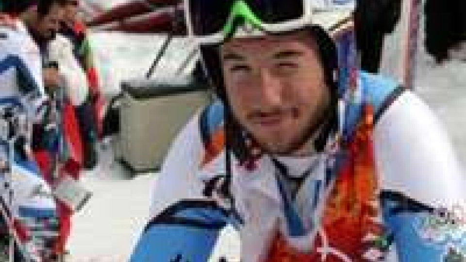 Slalom gigante: Michelotti ripescato per le manche finali