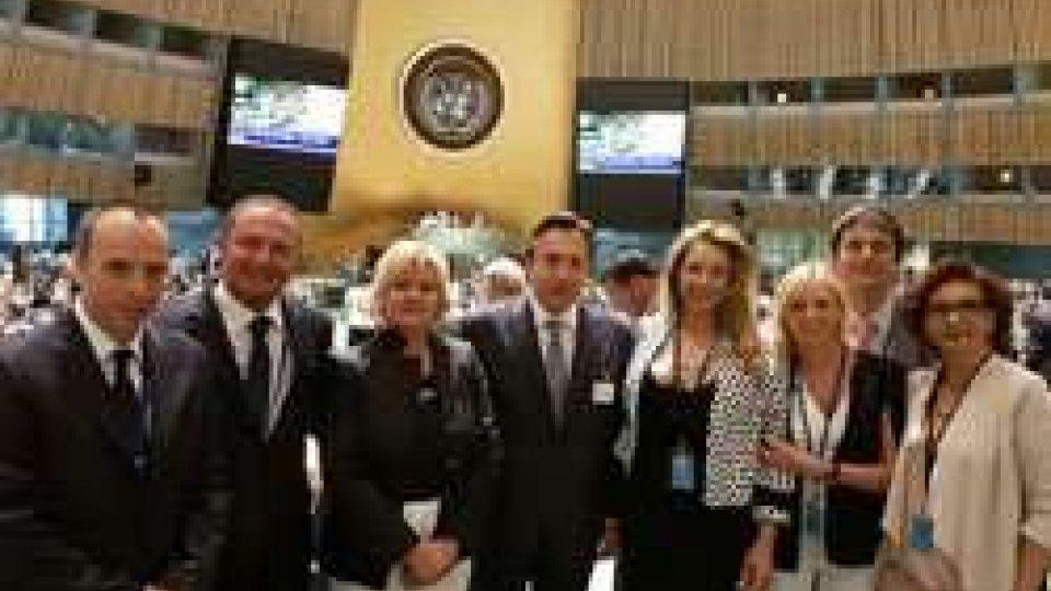 La delegazione sammarinese