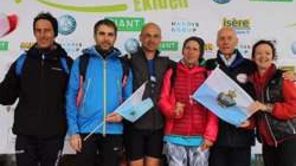 San Marino-Rives Team 4' nella staffetta mista alla Maratona Ekiden di Grenoble