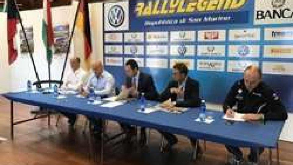 La presentazione del 14° RallyLegendÈ tutto pronto per il 14° RallyLegend