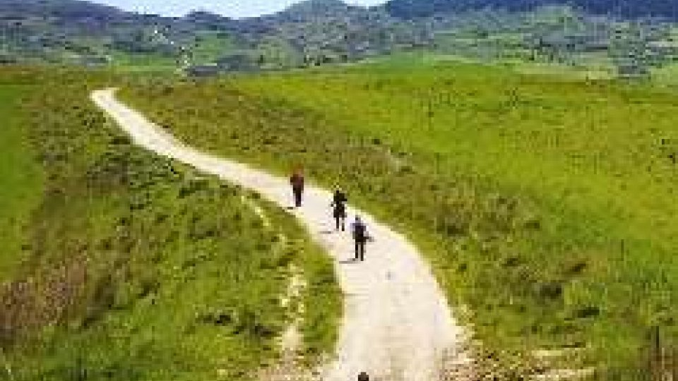 In cammino sulla Magna Via Francigena