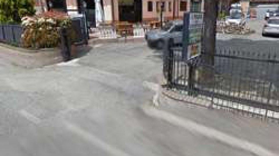 Il cancello del parcheggio (Google Maps)