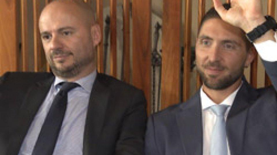 Luca Boschi e Luca Santolini votano