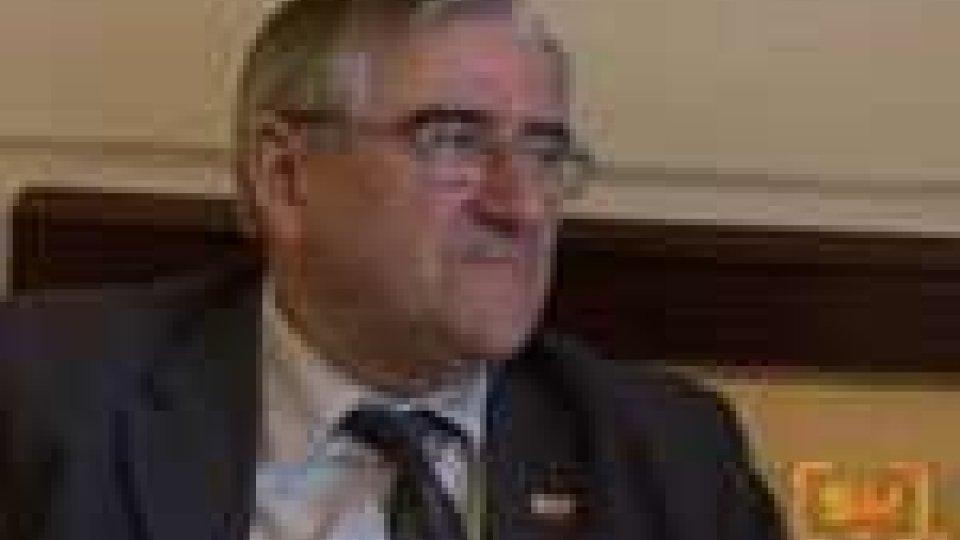 Il presidente della camera dei poteri locali del congresso dei poteri locali e regionali del consiglio d'Europa a San Marino