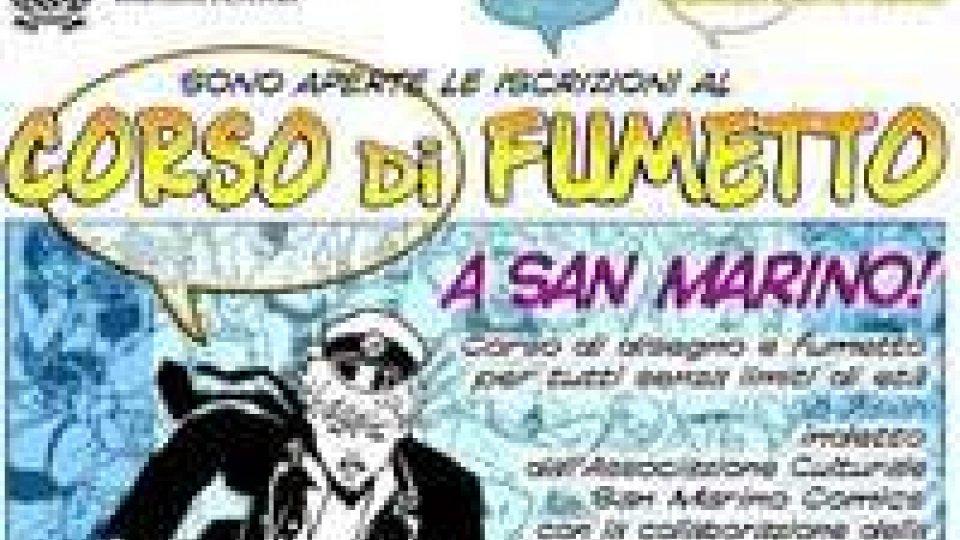 Al via il Corso di Fumetto in Repubblica grazie a San Marino Comics