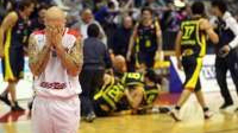 Basket DNB: La capolista Ravenna passa a RiminiSconfitta casalinga
