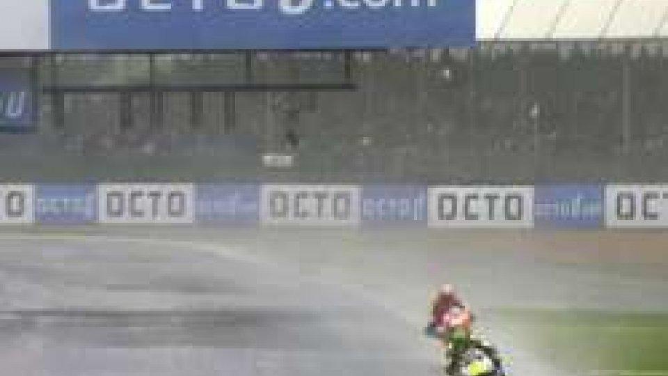 Crutchlow sotto il diluvio di Silverstone