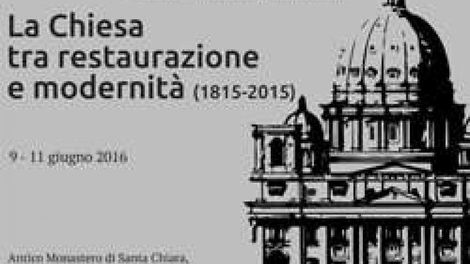 """Università San Marino: """"La Chiesa tra restaurazione e modernità"""", introduce Luciano Canfora"""