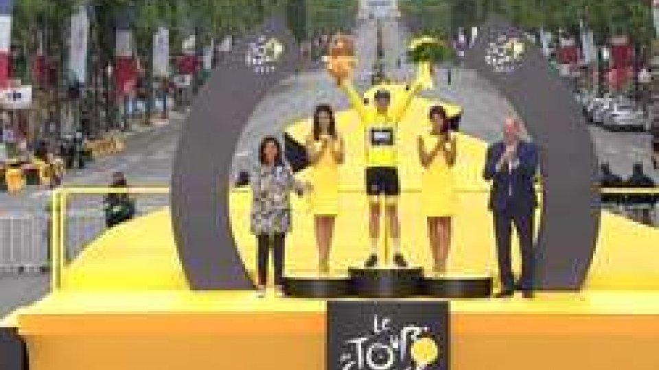 Froome vincitore del Tour