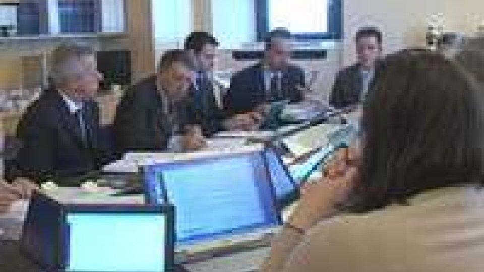 Seduta di insediamento per il Consiglio dei XII