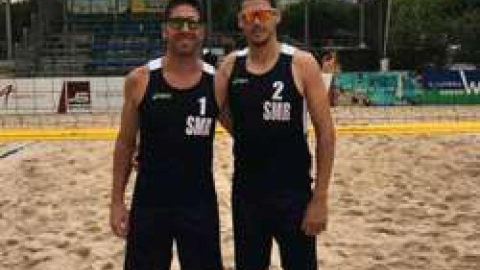 Major Series Beach Volleyball/ San Marino al quarto posto nella tappa di Cesena