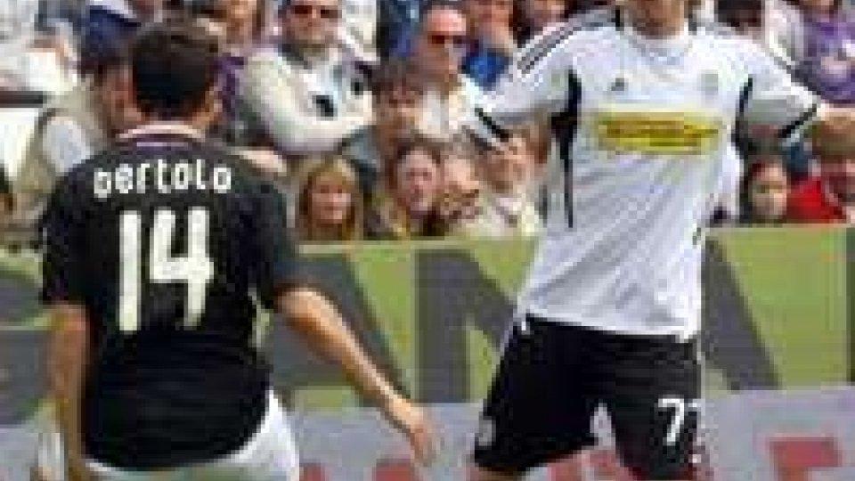Cesena-Palermo 2-2