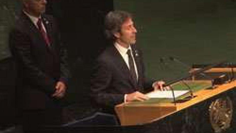New York: il discorso integrale della Reggenza all'ONU