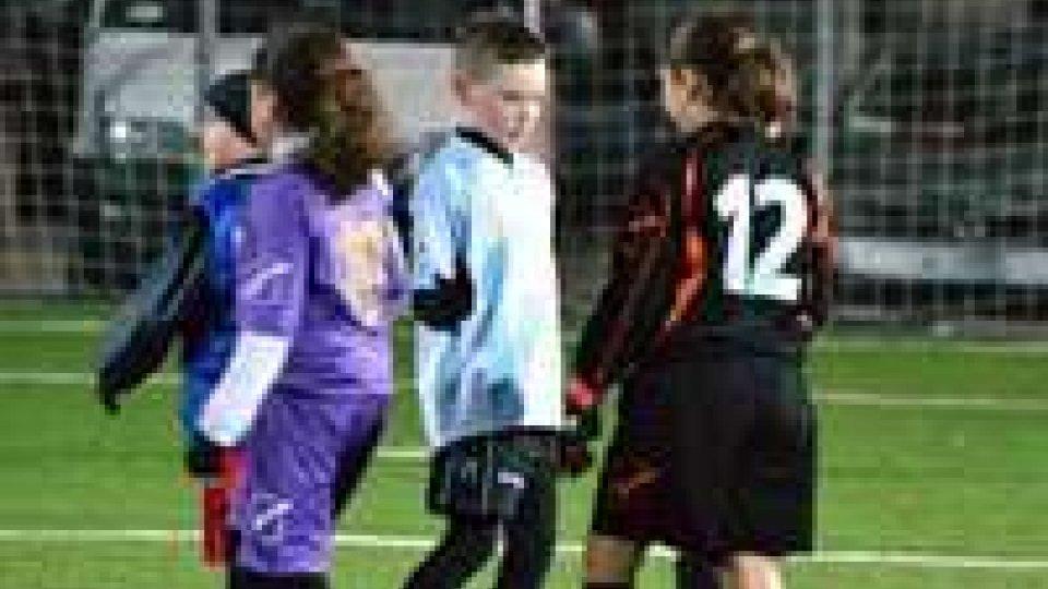 Under 10: Titano 2 vince sulla squadra femminile